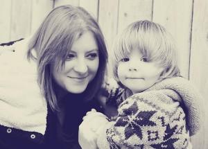 Rebecca and son