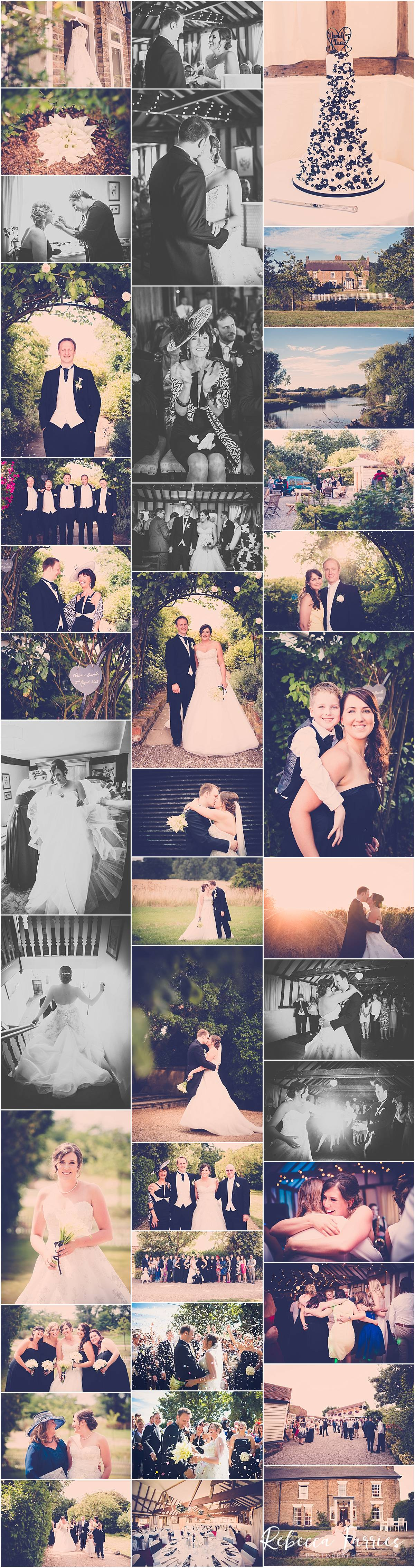 Wedding Photography collage from The Reid Rooms