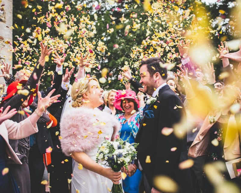 colville hall, confetti, wedding photography,
