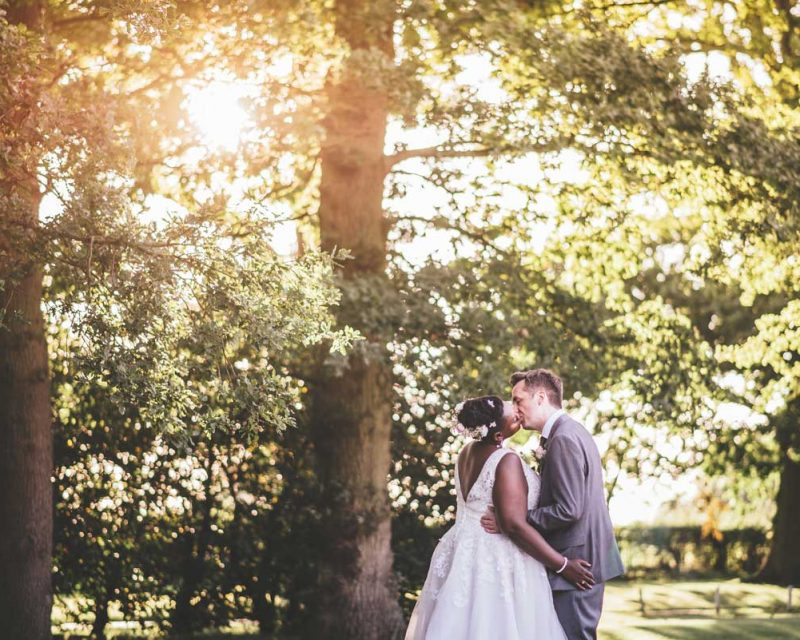 Bride and Groom Golden hour